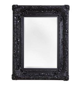 Palermo - spiegel met barok zwarte lijst