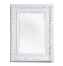 Genova - spiegel met barok witte lijst