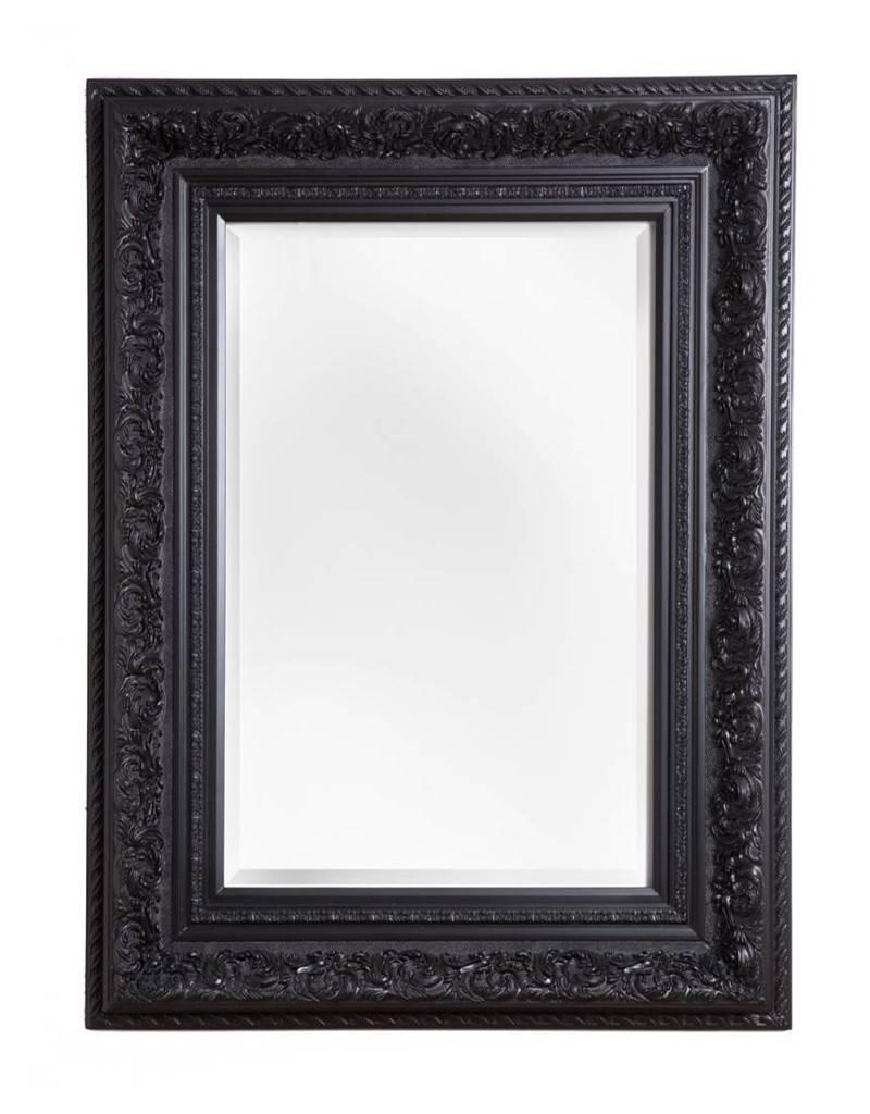 Genova - barokspiegel - zwart