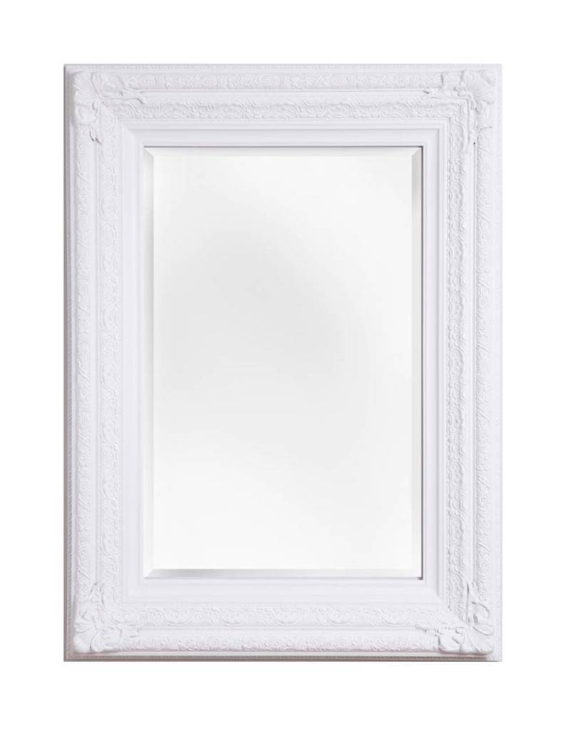 Fréjus - barokspiegel - wit