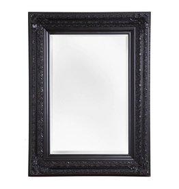 Fréjus - spiegel met zwarte barok lijst
