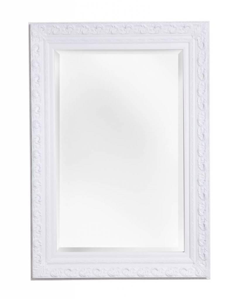 Great free savona spiegel met barok witte lijst vergroten for Goedkope barok spiegel