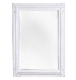 Naples - spiegel met witte lijst