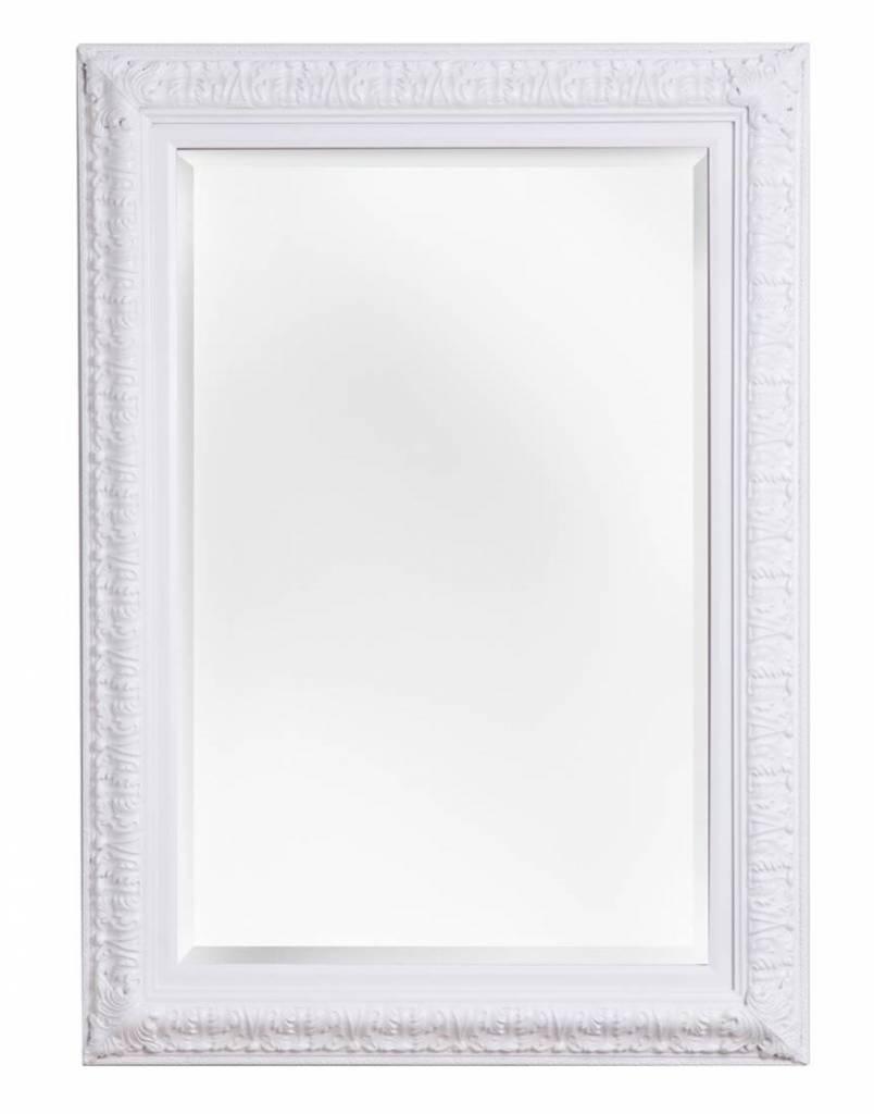 Zaragoza - spiegel met barok witte lijst
