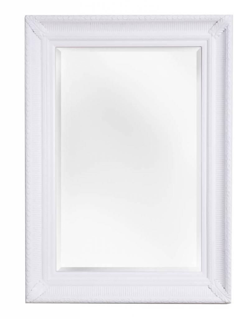 Bari - spiegel met unieke witte lijst