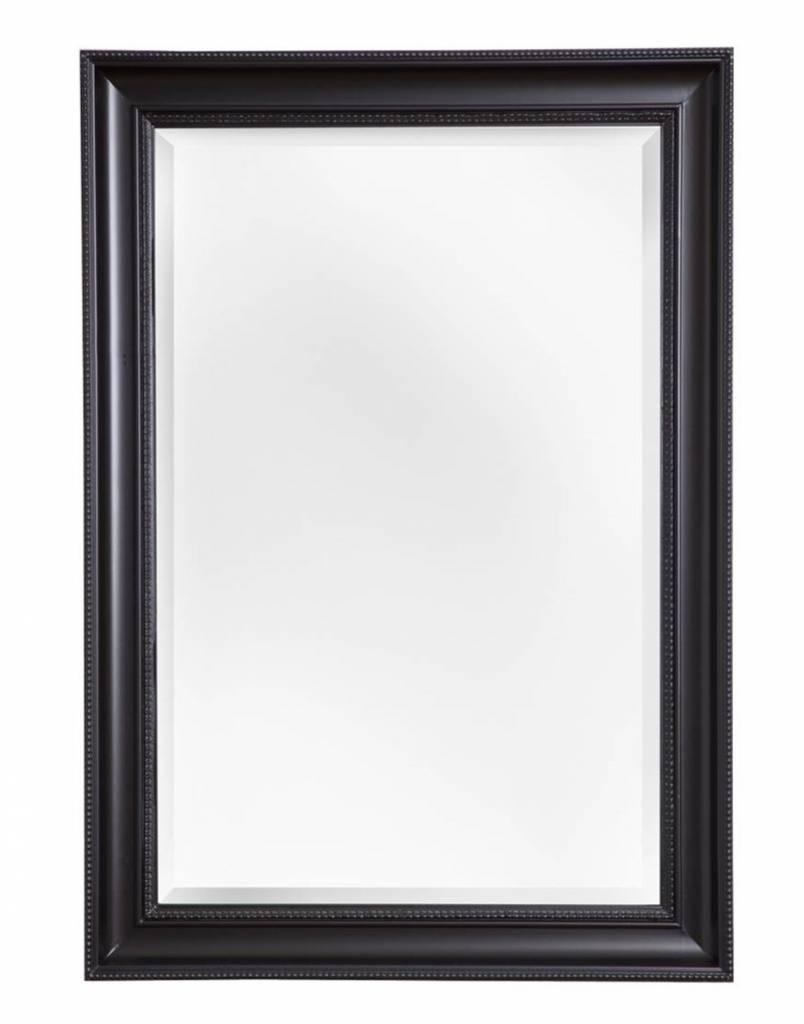 Barok spiegel for Spiegel met zwarte lijst
