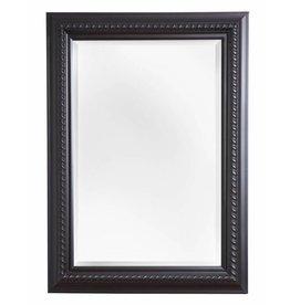 Ferrara - spiegel met zwarte lijst