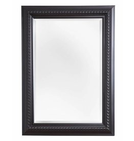 Ferrara - spiegel - zwart