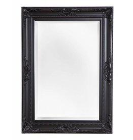 Nice - sfeervolle spiegel met zwarte barok lijst