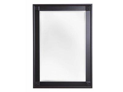 Palma spiegel met unieke zwarte lijst kunstspiegel for Spiegel zwarte lijst