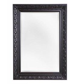 Savona - spiegel met zwarte brocante lijst
