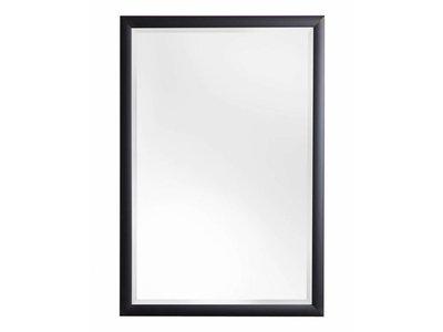 Frascati spiegel met zwarte lijst