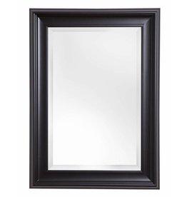 Foggia - spiegel met moderne zwarte lijst