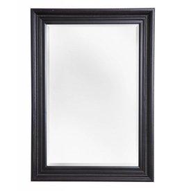 Lyon - spiegel met barok zwarte lijst