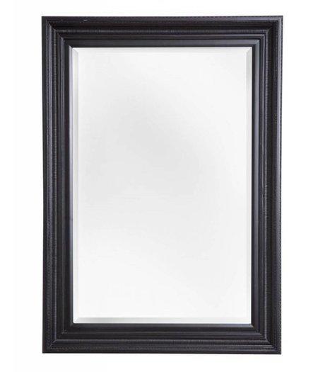 Zwarte barok spiegels for Spiegel zwarte lijst
