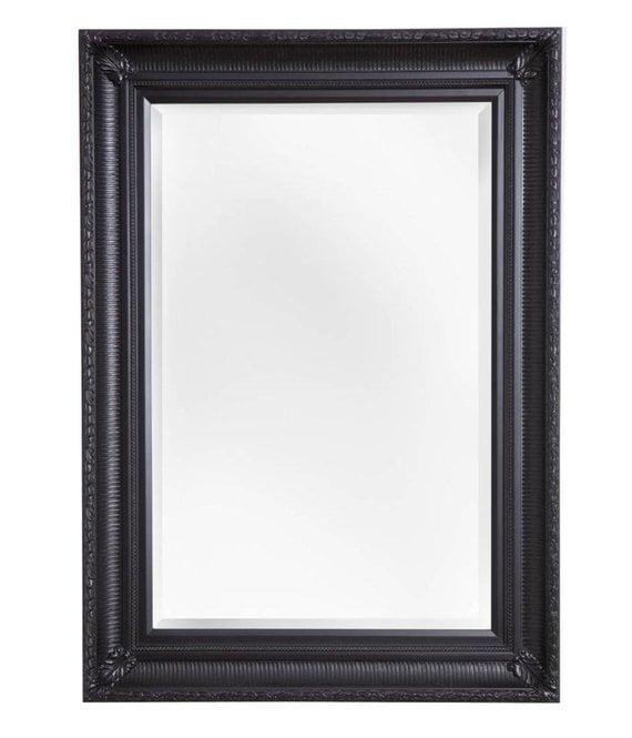 Bari spiegel met unieke zwarte lijst for Spiegel zwarte lijst