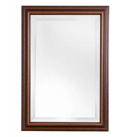 Stockholm - spiegel met klassieke houten lijst