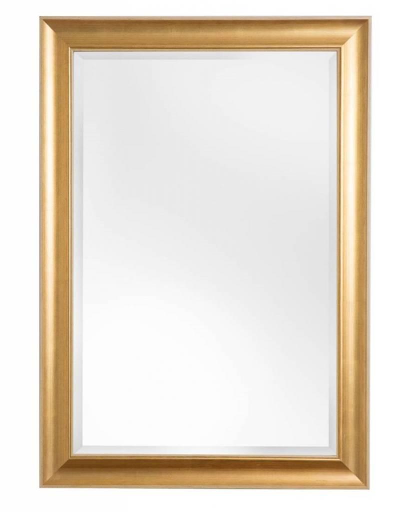 Haarlem spiegel met gouden lijst