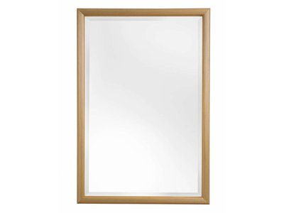 Zwolle - spiegel met bolle gouden lijst