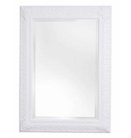 Marbella - spiegel met klassiek witte lijst