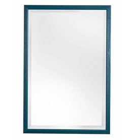 Lille - spiegel met smalle blauwe lijst