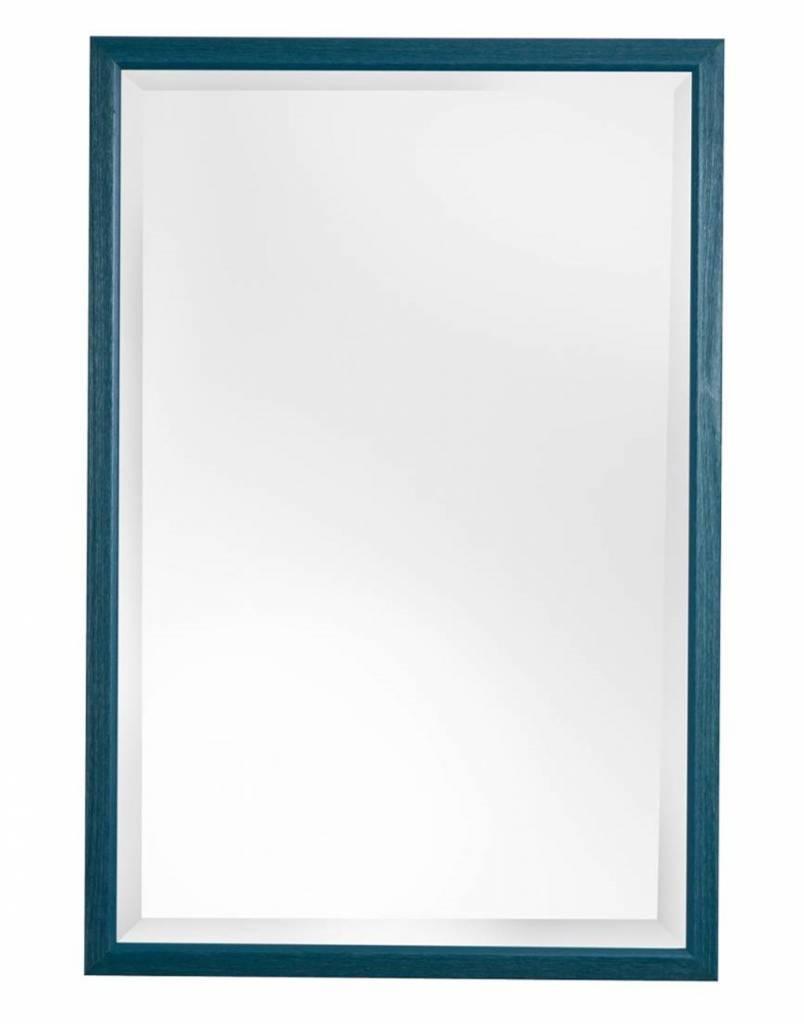 Lille spiegel blauw
