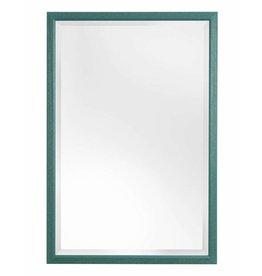 Lille - spiegel met smalle groene lijst
