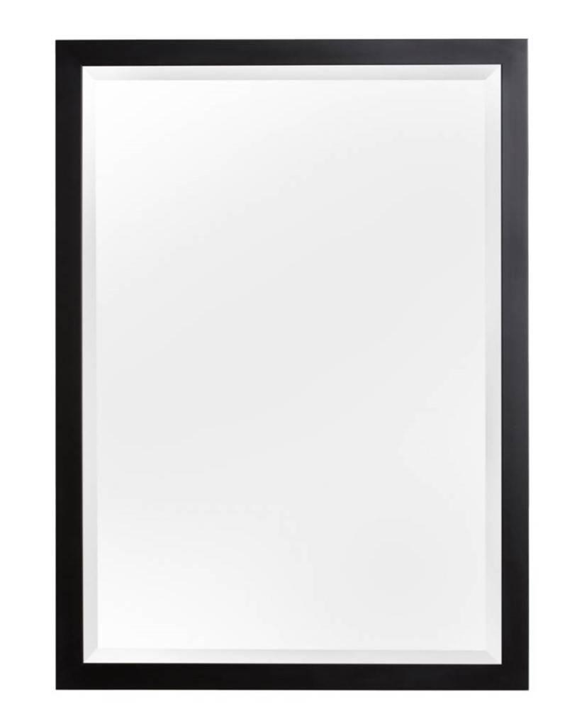 New york moderne zwarte spiegel for Spiegel zwarte lijst