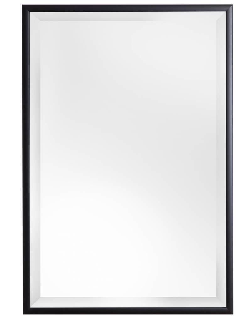 Levie betaalbare spiegel met zwarte lijst for Spiegel met zwarte lijst