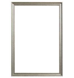 Bologna - stijlvolle zilveren lijst van hout