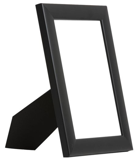 Levie - moderne zwarte fotolijst