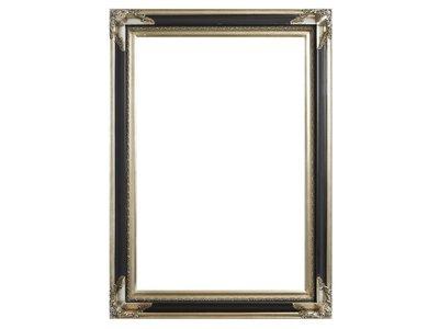 Naples - zilver zwarte lijst