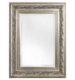 Genova - sfeervolle spiegel met barok zilveren lijst