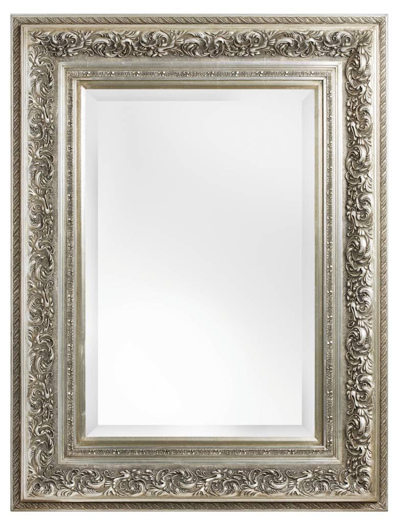 Sassari sfeervolle spiegel met barok zilveren lijst for Barok spiegel