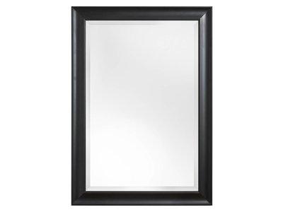 Haarlem spiegel met zwarte houten lijst