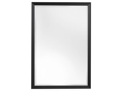 Helsinki moderne spiegel met zwarte lijst