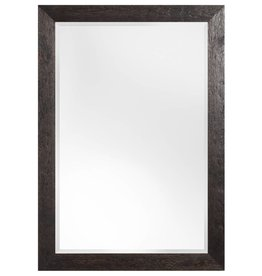 Umbria - spiegel - donkerbruin/hout