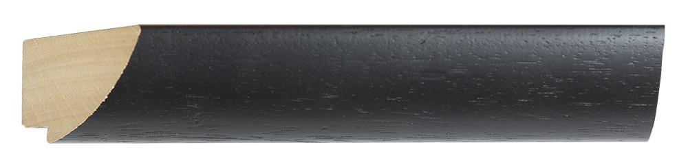 Estepona moderne spiegel met zwarte houten lijst