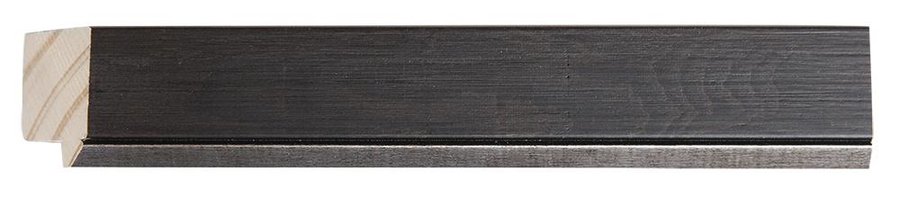 Rimini  - spiegel - donkerbruin hout