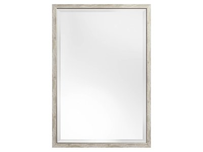 Rimini (met spiegel) - Grijs / Zilver