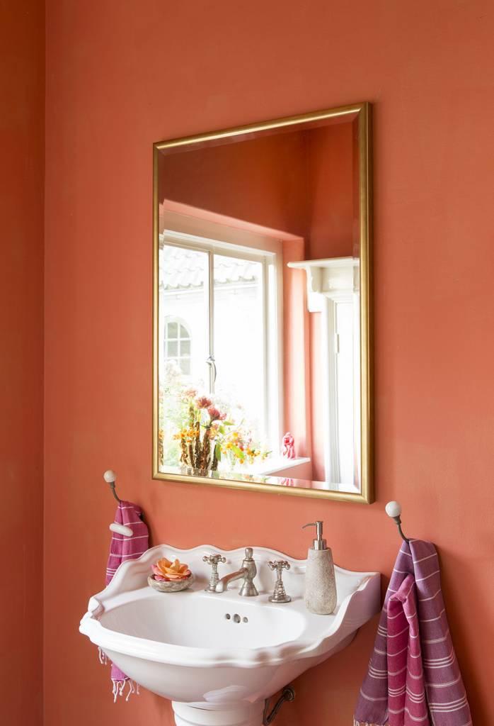 Biella - spiegel - goud
