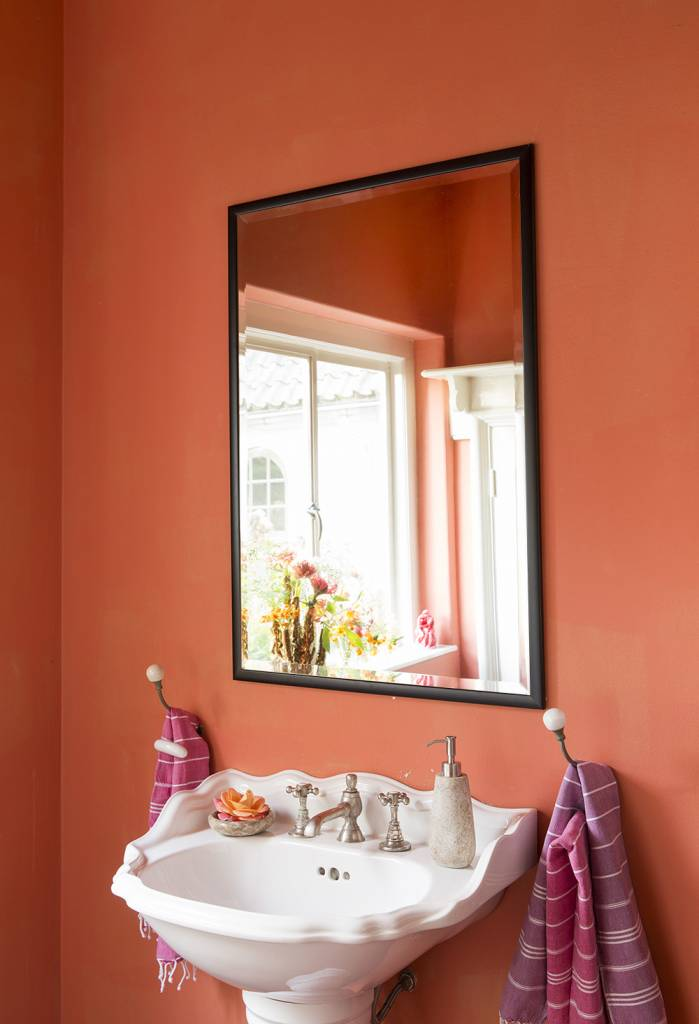 Moderne Spiegel levie betaalbare moderne spiegel simpel zwart frame kunstspiegel