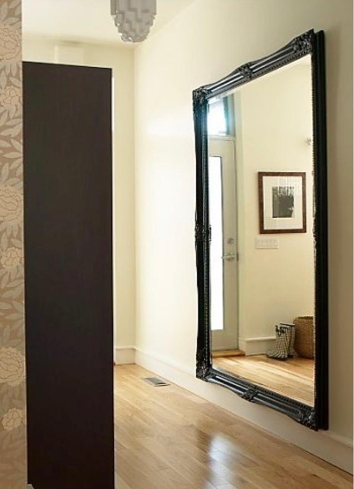 Inspiratie voor grote spiegels - Grote spiegel kleefstof ...