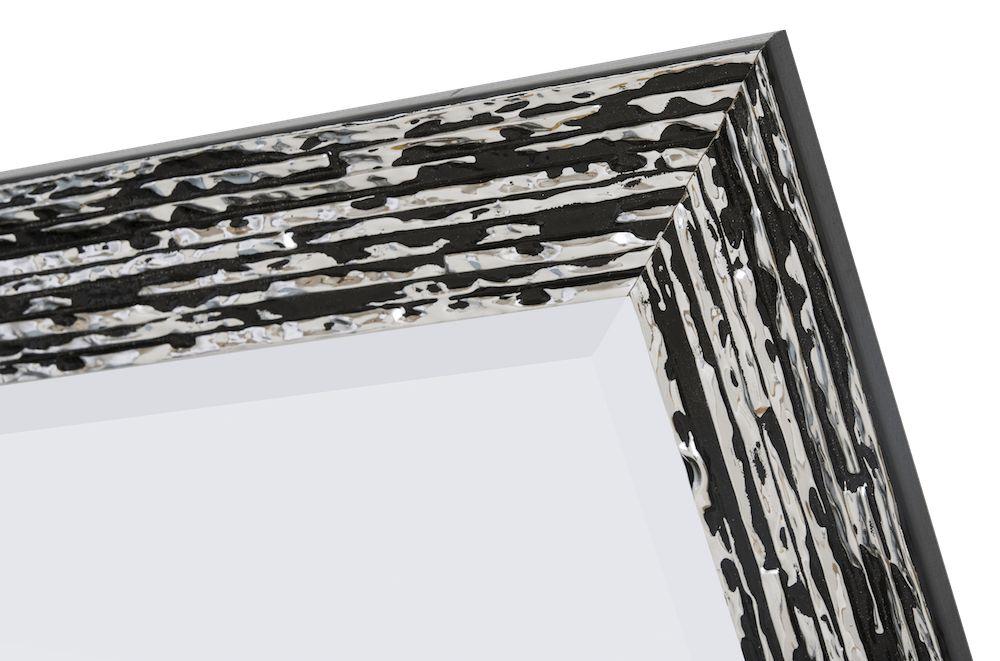 Toscane - Zwart Zilver (met spiegel)