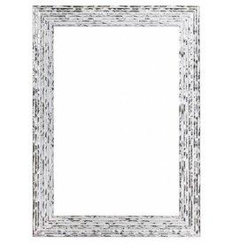 Toscane - Wit zilveren designlijst