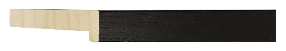 Gran Paradiso - Diepe  Baklijst - Zwart Gekleurd