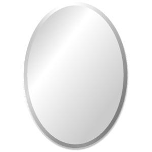 Ovale spiegel zonder lijst vele maten mogelijk for Spiegels zonder lijst