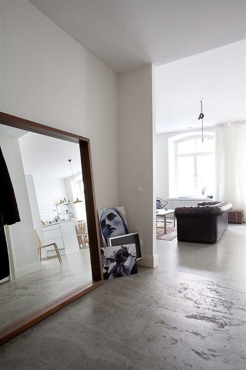 idee n voor handige spiegeltoepassingen kunstspiegel. Black Bedroom Furniture Sets. Home Design Ideas