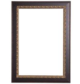 Forli - donker bruine lijst (donkere rand)