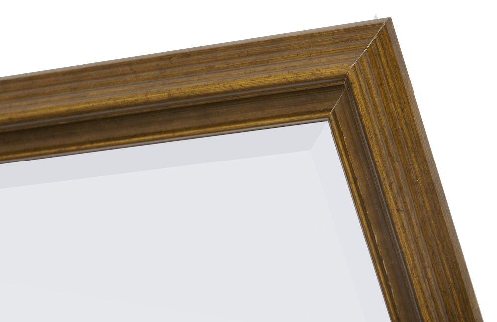 Asti - spiegel met gouden houten lijst